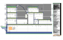 Music museum project plan detail dwg file.