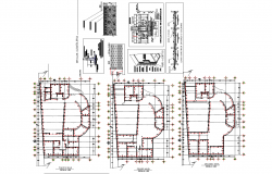 Music school masonry construction details dwg file