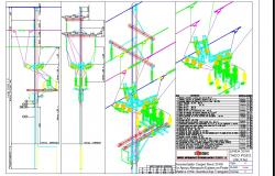 Nova 33 kv electrical drawing and detail in autocad dwg files
