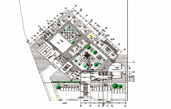 Nursery plan detail dwg file