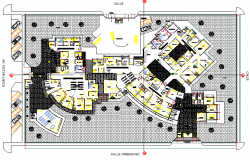 Obstetric surgical center of health plan detail dwg file