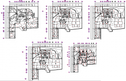 Office's electrical layout