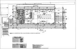 Office Architect design office first-floor plan detail dwg file