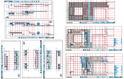Office Building Layout plan dwg file
