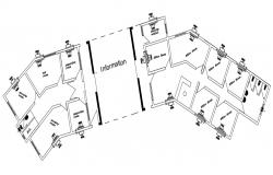 Office Floor Plan DWG Download