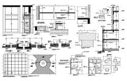 Office Furniture Details DWG