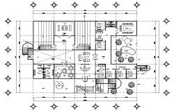 Office Plan AutoCAD Drawing Download