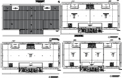Office building floor plan layout details dwg file
