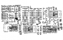 Office building of 7floors and 2basements dwg file
