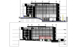 Office building plan detail