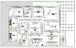 Office commercial layout file