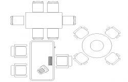 Office furniture CAD blocks download