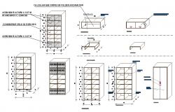 Office furniture blocks details