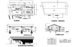 Office plan detail