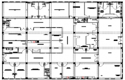One Family Housing Two levels Architecture Design and Structure dwg file