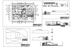 One family bungalow design study