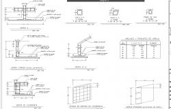 One family housing split level design plan dwg detail.,