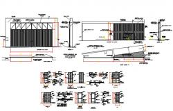 Openings  or door types and detail drawing.