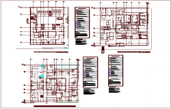 Oxygen gas installation pipe line view of hospital design dwg file