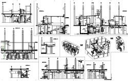 Paper mill plan detail dwg file