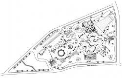 Park Design CAD Plan