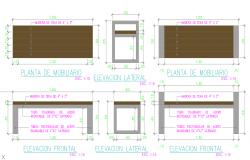 Park benches walk or terraces Design