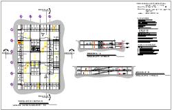 Parking Plot design drawing