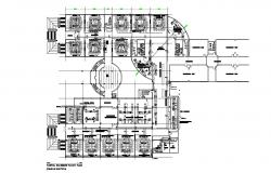 Basement floor plan in AutoCAD file
