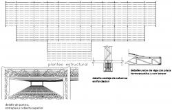Passenger Boarding Bridge Design CAD Plan