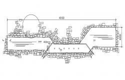 Pavement Design AutoCAD File Free Download