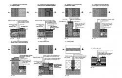 Pavement and landscaping automation cad drawing details dwg file