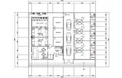 Paying Guest House Plan DWG File