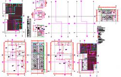 Penthouse false ceiling details