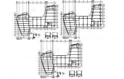 Pile Foundation Drawing Of Commercial Building DWG File