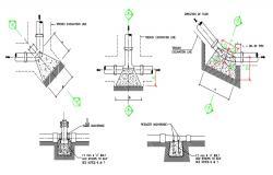 Pipe Plumbing Blocks Design AutoCAD File Free Download