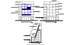 Pipe structural detail dwg file