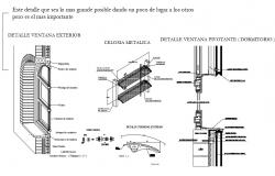 Pivot Window Detail DWG