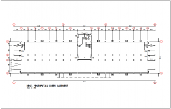 Place of kuchen basement for plan of government building dwg file