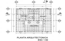 Plan architect public bathrooms detail dwg file