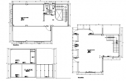 Plan detail dwg file