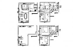 House Layout Design In AutoCAD