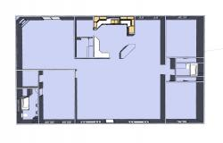 Plan of a 3 bedroom House