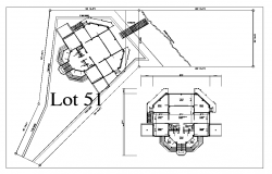 Plan of gymnasium dwg file