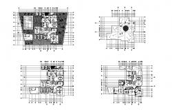 Download Free House plans  in AutoCAD file