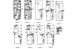 Apartment Design In AutoCAD File