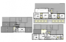 Planing house detail layout file