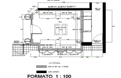 Planning Cava restaurant liquor detail dwg file