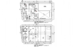 Planning Industrial laundry plan detail dwg file
