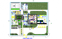 Planning Juice processing plant detail dwg file
