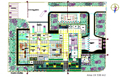 Planning Mangoes manufactures in Chiclayo detail dwg file